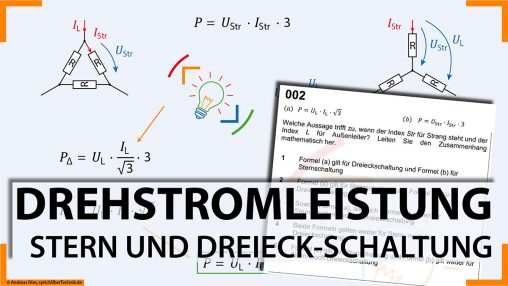 002-Video-Aufgabensammlung-Leistung-Stern-Dreieck-Pruefungsvorbereitung-Elektroniker-sprichUeberTechnik-Nies